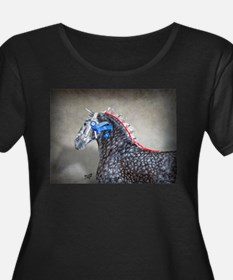 Percheron Women's Plus Size Dark T-Shirt