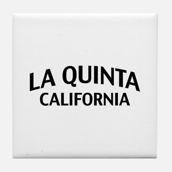 La Quinta California Tile Coaster