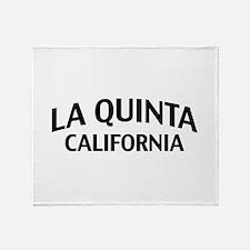 La Quinta California Throw Blanket