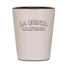 La Quinta California Shot Glass