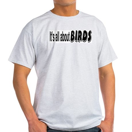 All About Birds Ash Grey T-Shirt