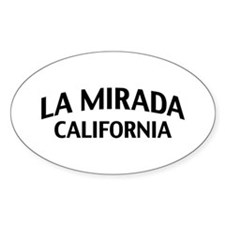 La Mirada California Decal
