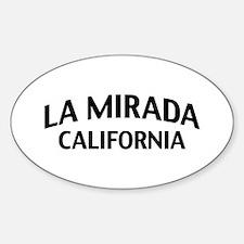 La Mirada California Decal