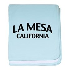 La Mesa California baby blanket