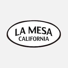 La Mesa California Patches