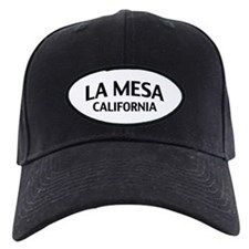 La Mesa California Baseball Hat