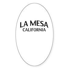 La Mesa California Decal