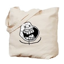 Forever Alone Teeth Tote Bag