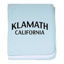Klamath California baby blanket