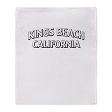 Kings Beach California Throw Blanket