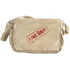 Live Bait Messenger Bag