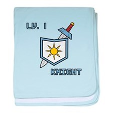 Level 1 Knight baby blanket