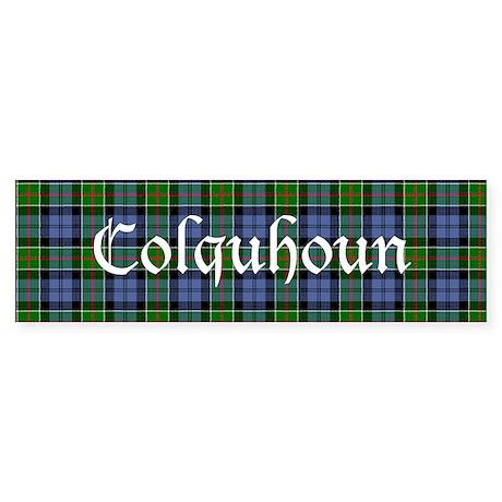 Tartan - Colquhoun Sticker (Bumper)