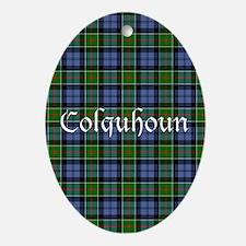 Tartan - Colquhoun Ornament (Oval)