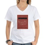 Chemistry of A Republican Women's V-Neck T-Shirt