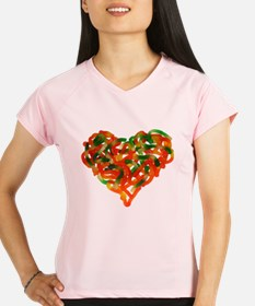 Cute Heart candy Performance Dry T-Shirt