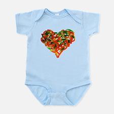 Unique Heart candy Infant Bodysuit