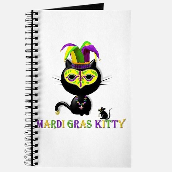 Mardi Gras Kitty Journal