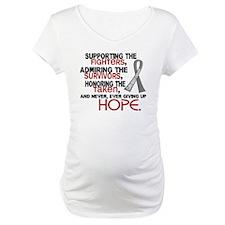 © Supporting Admiring 3.2 Brain Cancer Shirt