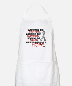 © Supporting Admiring 3.2 Brain Cancer Apron