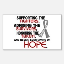 © Supporting Admiring 3.2 Brain Cancer Decal