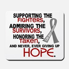 © Supporting Admiring 3.2 Brain Cancer Mousepad