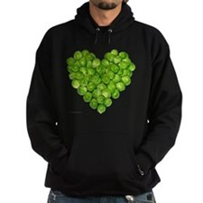 Brussel Sprouts Heart Hoodie
