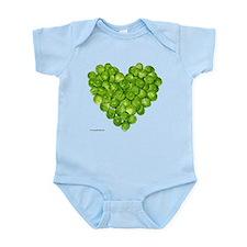 Brussel Sprouts Heart Infant Bodysuit