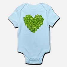 Brussel Sprouts Heart Infant Bodysuit