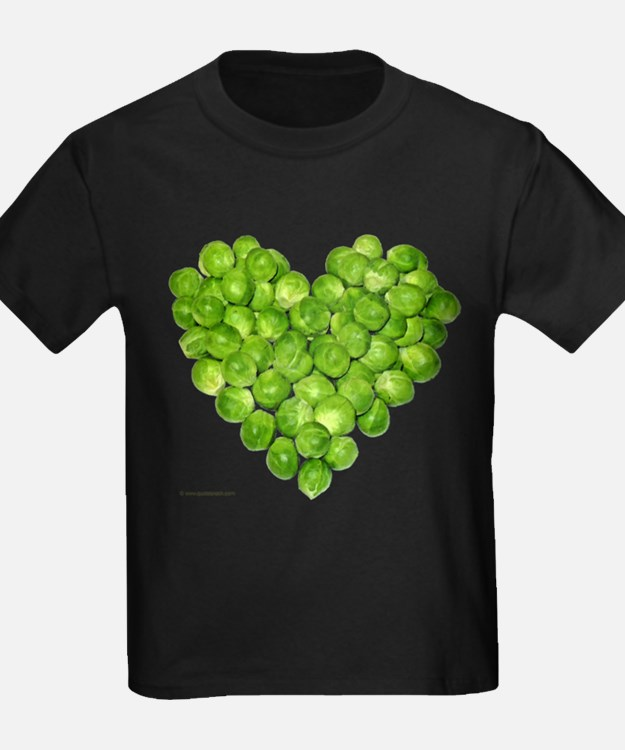 Brussel Sprouts Heart T