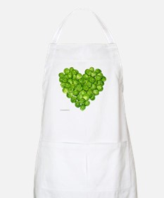 Brussel Sprouts Heart BBQ Apron