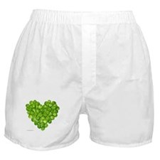 Brussel Sprouts Heart Boxer Shorts
