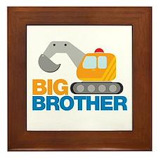 Digger Big Brother Framed Tile