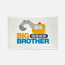 Digger Big Brother Rectangle Magnet