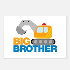 Digger Big Brother Postcards (Package of 8)