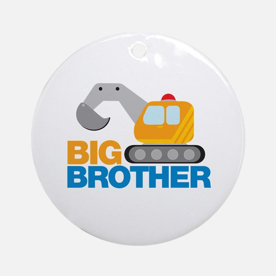 Digger Big Brother Ornament (Round)