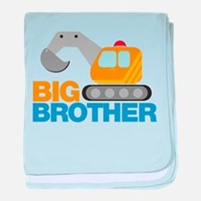 Digger Big Brother baby blanket