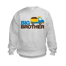 Dump Truck Big Brother Sweatshirt