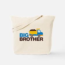 Dump Truck Big Brother Tote Bag