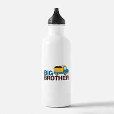 Dump Truck Big Brother Water Bottle
