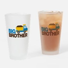 Dump Truck Big Brother Drinking Glass