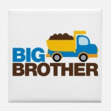 Dump Truck Big Brother Tile Coaster