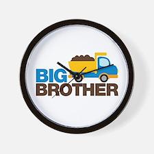 Dump Truck Big Brother Wall Clock