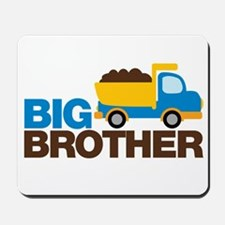 Dump Truck Big Brother Mousepad