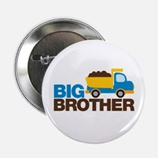 "Dump Truck Big Brother 2.25"" Button"
