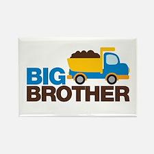 Dump Truck Big Brother Rectangle Magnet