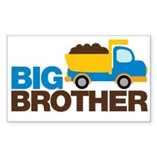 Dump Truck Big Brother Decal