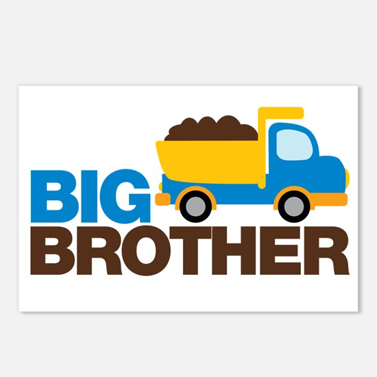 Dump Truck Big Brother Postcards (Package of 8)
