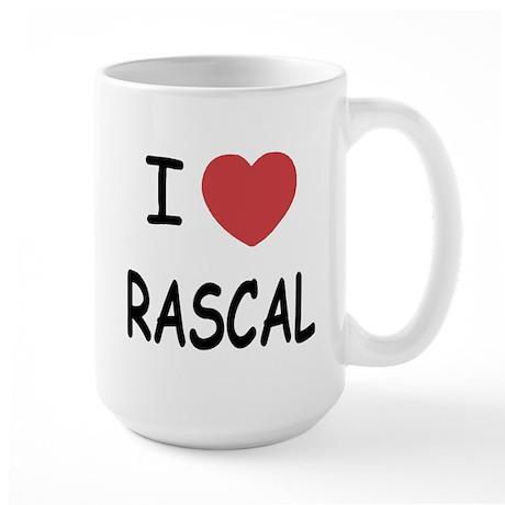 I heart rascal Large Mug