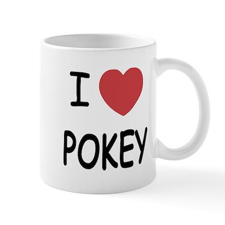 I heart pokey Mug